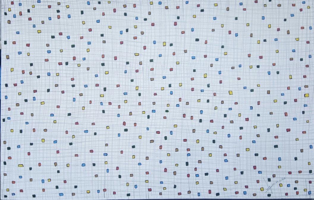 Acrylbild 'Kite' – 140 x 90 cm